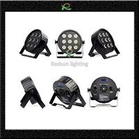 Lampu par led lighting panggung pipih full color 9*10W LP014 Murah 5