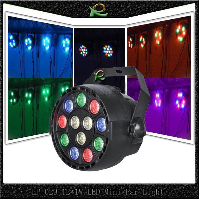 Jual Lampu Sorot Panggung Kecil Led Par Light RGBW 12*1W