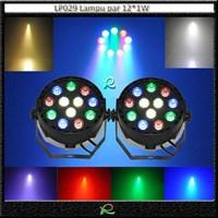 Lampu sorot panggung kecil led par light RGBW 12*1W LP029 Murah 5