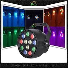 Lampu sorot panggung kecil led par light RGBW 12*1W LP029