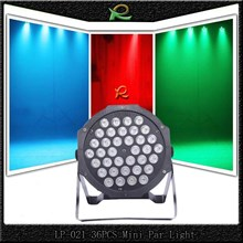 Lampu sorot panggung pipih disco par light 36*1W LP021