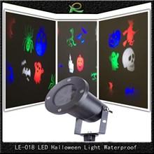 Lampu sorot taman dekorasi waterproof 6*3W LE018