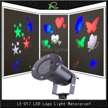 Lampu taman star love butterfly waterproof 6*3W LE017