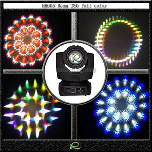 Lampu beam 230 moving head light full color HM007