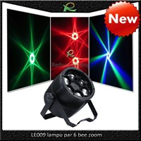 Lampu par led bee mata beam efek 6*10W untuk disco DJ bar LE009
