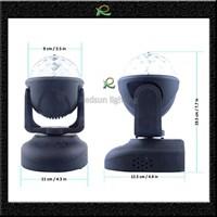 Jual Lampu disco led rotating putar disko ball otomatis dan suara LM023 2