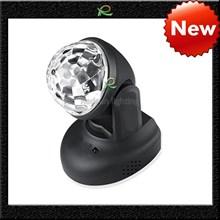 Lampu disco led rotating putar disko ball otomatis dan suara LM023