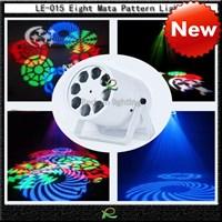 Lampu par gobos disko led pattern light LE015 1