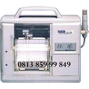 MINI CUBE THERMOHYGROGRAPH   SATO