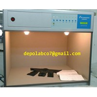 Jual LIGHT BOX CAC600  COLOR ASSEMENT CABINET 7 LAMP