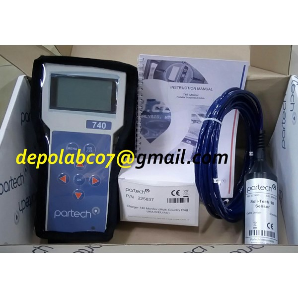 TSS PARTECH 750W² PORTABLE TOTAL SUSPENDeD SOLIDS TSS METER