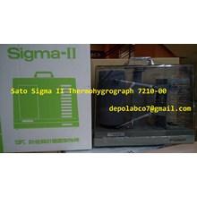 THERMOHYGROGRAPH SATO SIGMA II 7210-00