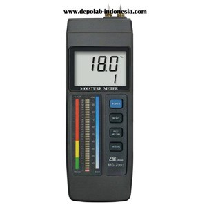 From MS 7003 WOOD CONCRETE MOISTURE METERS  0