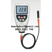 Jual CTP 050 COATING THICKNESS WITH PROBE GAUGE  FERROUS  NON  FE 2