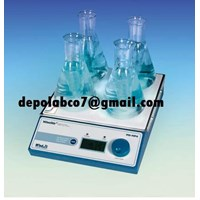 MS~MP4 MAGNETIC STIRRER MULTI POINT MS~MP8