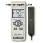 CO2 CARBON DIOXIDE THERMO HYGROMETER GCH 2018 1