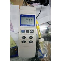 ALAT UJI KUALITAS AIR DIGITAL PH METER LUTRON PH 208