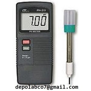 From WATER QUALITY TESTER PH METER PH 208 1