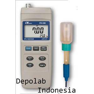 From WATER QUALITY TESTER PH METER PH 208 2