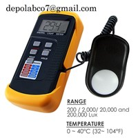 LIGHT METER SANFIX LX 1330B LLUC METER LUTRON LX 1102 LM 8100 LM 8102 LX 105 LX 107