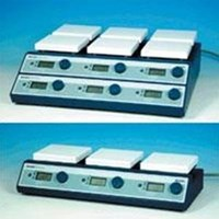 Jual MS H S10 MULTI HOT PLATE STIRRER ANALOG 10 POSITIONS 2