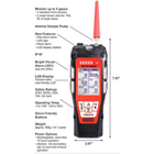 Detektor Gas Riken Keiki GX-6000 1