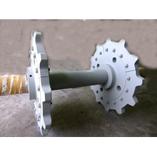 Head Tail Sprocket complete with shaft
