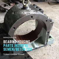 Bearing Housing parts untuk Industri Semen