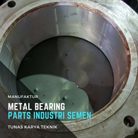 Metal Bearing parts Industri Berat