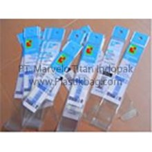 Plastic Pouch Office Tool Packaging OPP Stationery