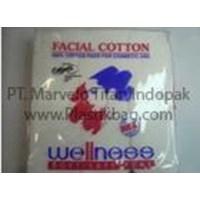 Plastik OPP Kantong - Kemasan Kapas Kosmetik