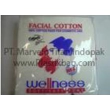 Plastic OPP Pouch - Cosmetic Cotton Packaging