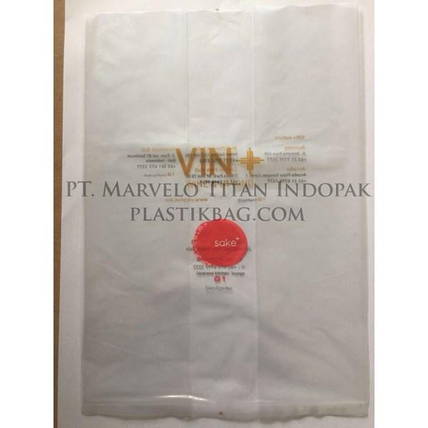 Plastik Kemasan Vin+ bahan PE polos