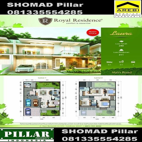 Houses In The Royal Residence Surabaya Services By Pt Pillar