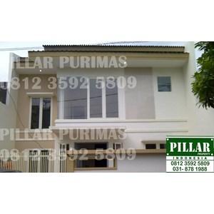 Rumah di Sutorejo Timur Mulyorejo Surabaya By PT  Pillar Property Surabaya