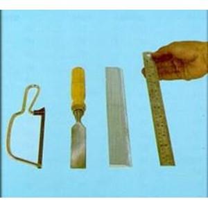 Wire Saw & Ge8805 Chissel & Straight Edge & Ruler & Gardener'S