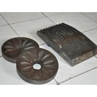 Pisau Jaw Crusher & Disc Mill Pulverizer & Spare Part Jaw Face 1