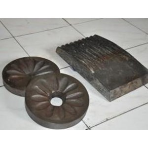 Pisau Jaw Crusher & Disc Mill Pulverizer & Spare Part Jaw Face