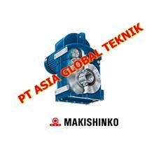 MAKISHINKO GEAR MOTOR GEARBOX DAN REDUCER