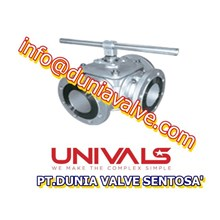 BALL VALVES UNIVALS UV-730