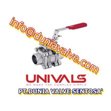 VALVES UNIVALS UV-770 BALL VALVES