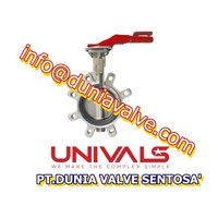 VALVES UNIVALS UV-510 BUTTERFLY VALVE