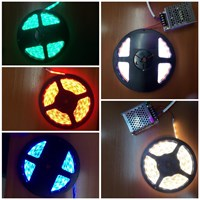 Led Strip Mata Kecil-Besar Outdoor-Indoor