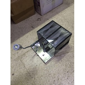 Lampu Dinding Kotak Hitam Dimer Lampu Baca 1 watt