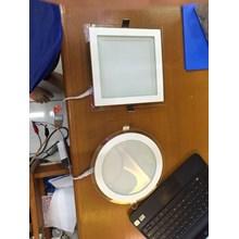 Lampu Panel Kaca Kotak dan Bulat