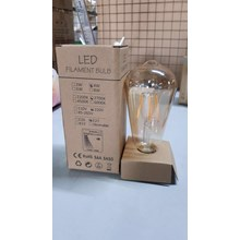 LED Bulb FIlamen ST64 E.27 HILED