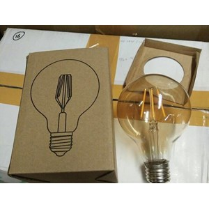 LED Bulb Filamen G80 E.27 HILED