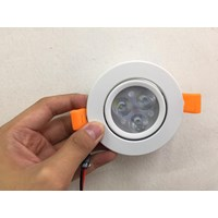 Downlight SMD 3 Watt 6000K 1