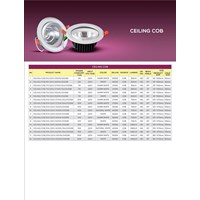 Jual Downlight Ceiling COB DS2588 - DS6088 HILED 2