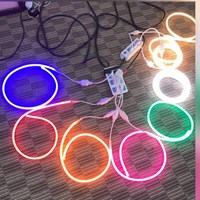 LED Neon Flexible Warna Warni
